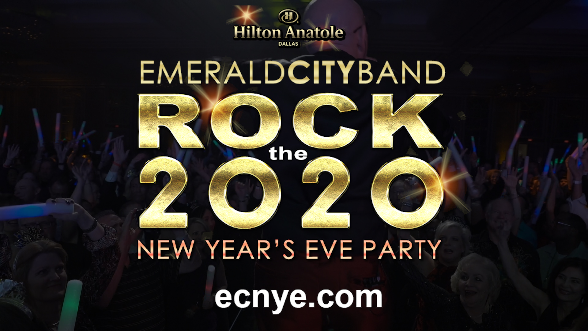 #1 New Year's Eve Party in Dallas - Emerald City Band NYE Dallas 2020